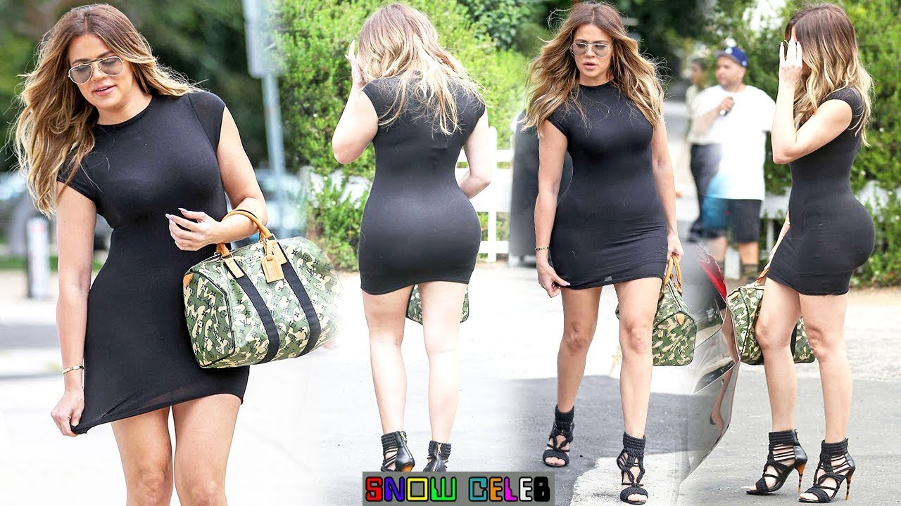 Khloe Kardashian 2018 Short Street Dress Style 2018 - YouTube