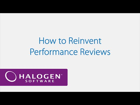 How to Reinvent Performance Reviews - Webinar