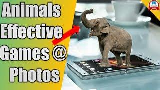 Comment créer de photographie d'animaux fond//Safari Centrale: la Faune AR