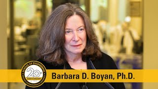 Image for vimeo videos on Interview With Barbara D. Boyan, Ph.D.