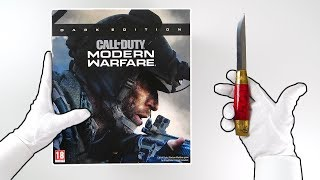 "Modern Warfare ""DARK EDITION"" Unboxing! (Call of Duty MW Collector's Edition)"