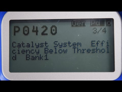 Code P0420 Catalyst Efficiency Below Threshold Bank 1. Emissions Test! NO PROBLEM!