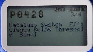 Code P0420 Catalyst Efficiency Below Threshold Bank 1. Emissions Test! NO PROBLEM!