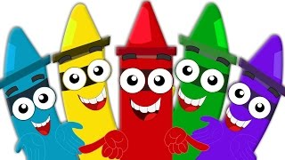 Crayons Color Song | Learn Colors for Babies And Kids | Colors for Children And Toddlers