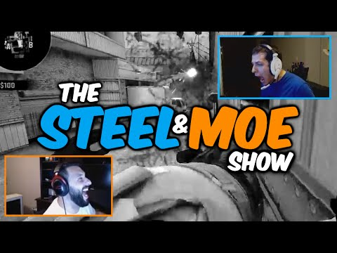 The Steel & mOE Show: Funniest Rage Highlights ☆With A Twist☆