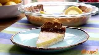 Dessert Recipes - How To Make Tart Lemon Triangles