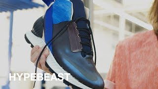 STUDIO HAGEL Designs Experimental Custom Sneaker at HOT-SHOP 11