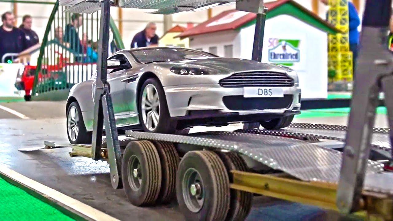 Fantastic RC Scania car transport - RC Truck Action - Car ...