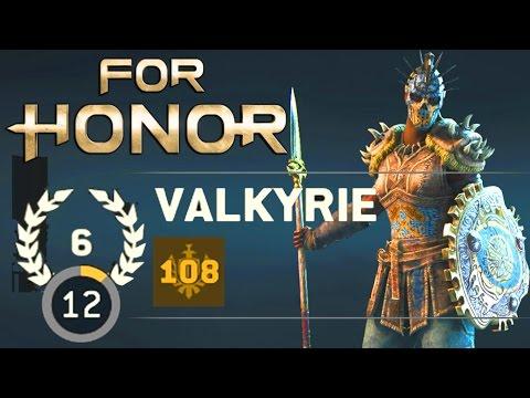 For Honor 2v2 Brawls - PRESTIGE 6 VALKYRIE WITH 108 GEAR RANK!