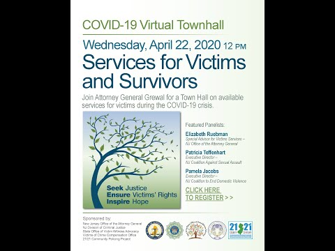 21/21 Virtual Town Hall: Services For Victims And Survivors During COVID-19