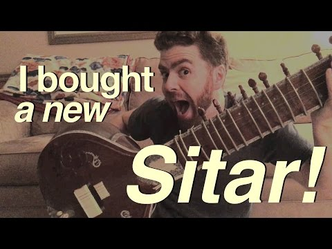 I bought a Sitar! Is this Ravi Shankar Style?