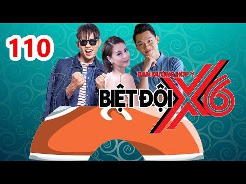 BIỆT ĐỘI X6 | BDX6 #110 | Nam Thư - Anh Tú - Quang Trung lầy lội chiến đấu với chiếc QUẦN KHỔNG LỒ👖