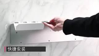 다이슨 에어랩 거치대 고데기 진열대 정리대 알루미늄