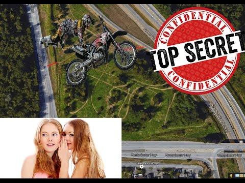 Secret Richmond BC Dirt Bike TRACK ?!?!