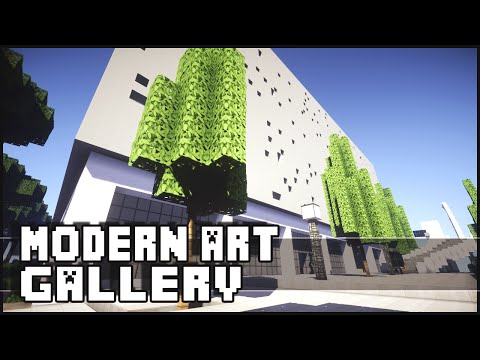 Minecraft - Modern Art Gallery