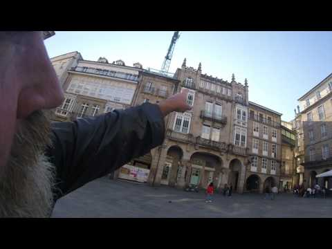 Plaza Mayor Ourense Galicia Spain A description of the Sights, Views and Buildings