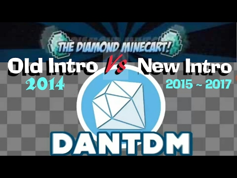 DanTDM Old intro Vs New intro (song)