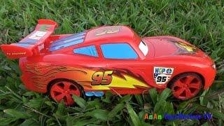Ô tô Mc queen đua với ô tô Angry Bird ❤ AnAn ToysReview TV ❤