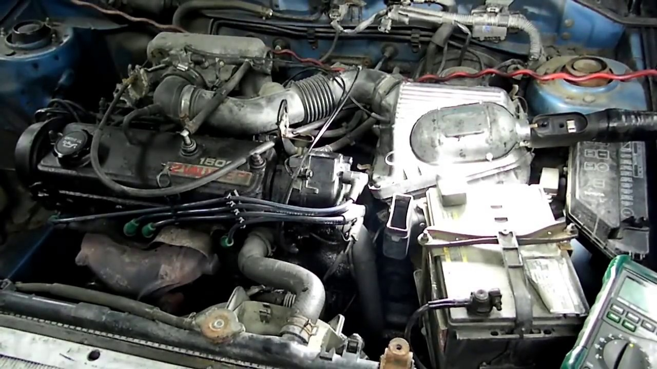 Toyota Tercel Ignition Coil No Start Troubleshooting  YouTube
