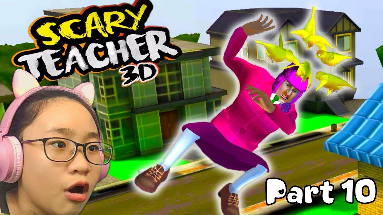 Download Scary Teacher 3D New Year Festivities - Gameplay Walkthrough Part 10 - Let's Play Scary Teacher 3D!!
