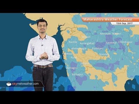 [Marathi] 15 सप्टेंबर महाराष्ट्राचा हवामान अंदाज: नागपूर येथे चांगला पाऊस; मुंबईसह नाशकात हलक्या सरी