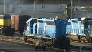 The Sounds of the EMD 645 Diesel Engine: Start Up, Idling, And Notch 8!