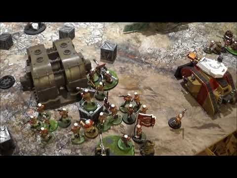 8th Edition Battle Report - Mordian Iron Guard Vs Blood Angels Part 2! - 1500pts
