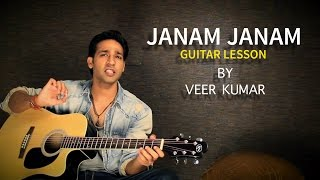 Janam Janam - Dilwale - Lead Guitar Lesson By VEER KUMAR