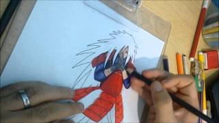 Speed Drawing Uchiha Madara