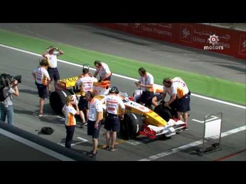 Best Formula 1 Crash In Dubai - أقوى حادث فورمولا 1 في حلبة دبي