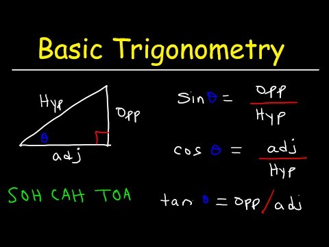 Trigonometry For Beginners! - YouTube
