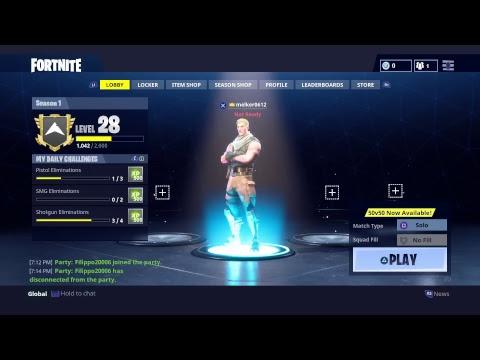 Livestream-Fortnite Battle Royal ny UPDATERING w/ filip