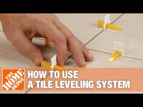 QEP's LASH Tile Leveling System | The Home Depot