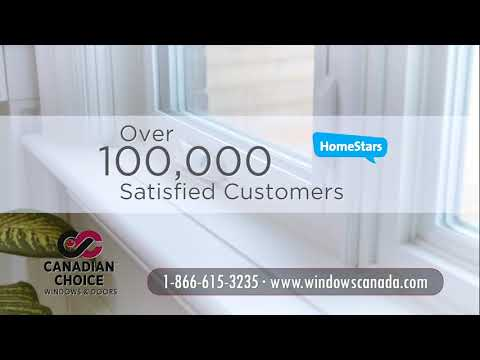 Canadian Choice Windows & Doors (Homestars, Zero Finance)
