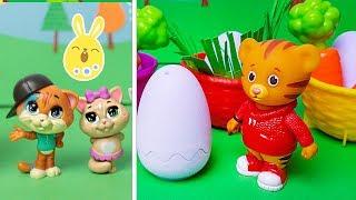 44 Gatti, Curioso George e Daniel Tiger alla ricerca delle Uova di Pasqua 🐣🍫 [Episodio 5]