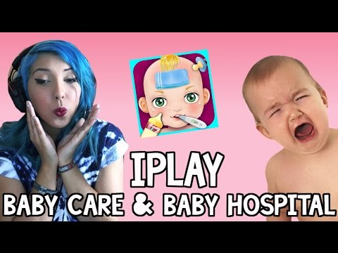 Baby Care & Baby Hospital (iPad Gameplay)