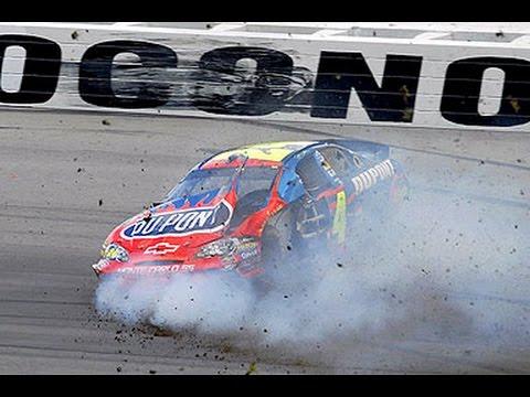 Top 15 Worst Jeff Gordon Wrecks