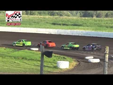 Fiesta City Speedway WISSOTA Hornet Heats (7/19/19)