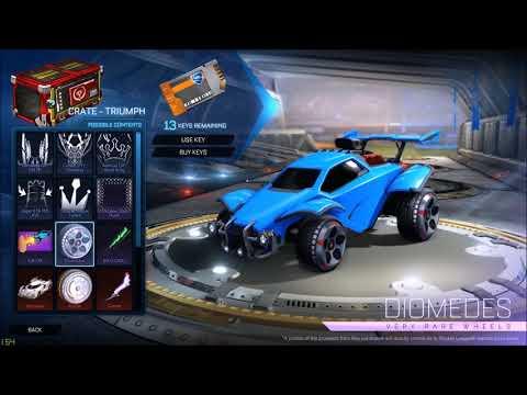 Brand new Triumph Crate contents! (Rocket League)