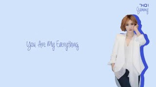 Gambar cover Gummy (거미) - You Are My Everything Lyrics (Han/Rom/Eng)