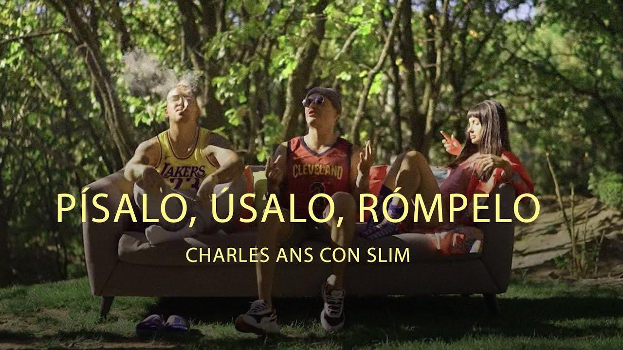 Charles Ans & Slim - Písalo, Úsalo, Rómpelo (Video Oficial)
