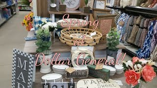 Dollar General Spring Home Decor! 2019
