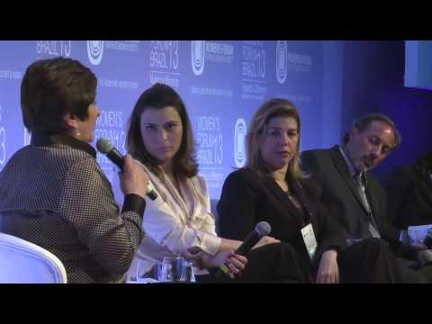 Women's Forum Brazil 2013   O fator maternidade