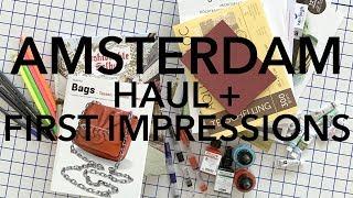 Amsterdam Art Supplies: Haul + First Impressions