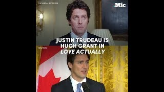 Justin Trudeau is Hugh Grant in Love Actually | Mic Archives