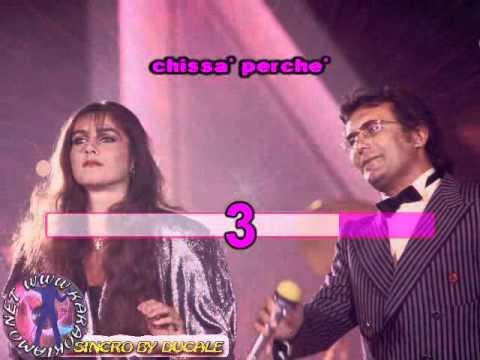 Albano e Romina Power - Nostalgia canaglia (karaoke - fair use)