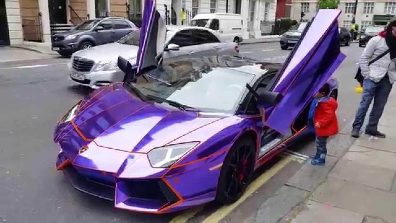 Lamborghini Electric Car For Kids >> Luckiest Kids Alive(Tron Lamborghini Aventador) - YouTube