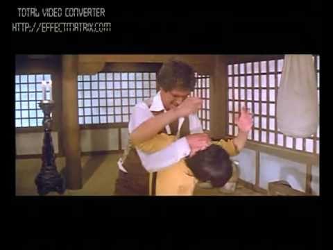 Game of Death  Bruce Lee Kim Tae Chung vs. Hugh O'Brian Cantonese