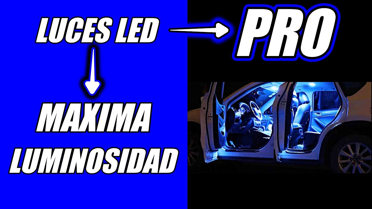 Luces interior coche incre ble iluminaci n youtube - Iluminacion interior coche ...