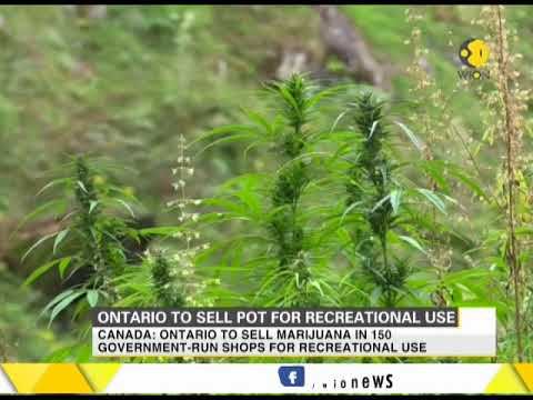 Canada: Ontario to sell marijuana for recreational use in 150 government shops